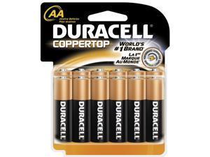 DURACELL CopperTop MN1500 1.5V AA Alkaline Battery, 12-pack