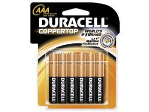 DURACELL CopperTop 1.5V AAA Alkaline Battery, 12-pack