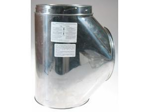 Selkirk Metalbestos 8T-IT Insulated Tee With Plug Stainless