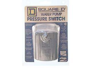 Square D FSG2J20M4CP 20 To 40 PSI Water Pump Low Pressure Cutoff Switch