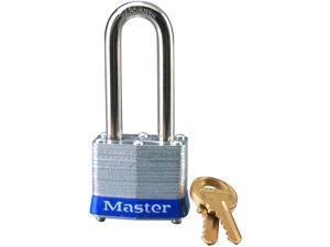 """Master Lock 3DLH 1-1/2"""" No. 3 Long Shackle Laminated Padlock"""