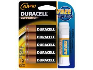 URACELL CopperTop 1.5V AA Alkaline Battery, 10-pack