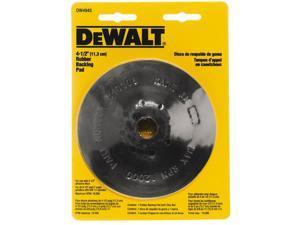 "Dewalt DW4945 4-1/2"" Rubber Backing Pad"
