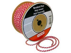 Lehigh Group RSBP235W 1//2 X 35/' Red Polye Solid Braid Multifilament Derby Rope