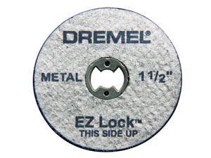 """DREMEL 5 Count 1-1/2"""" EZ Lock Cutoff Wheels"""