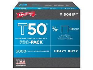 """Arrow Fastener 506IP 3/8"""" Hammer Tacker T50™ & T55™ Staples"""
