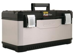 "Stanley Fat Max 026180R 26"" Gray FatMax® Metal & Plastic Tool Box"