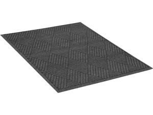 "Guardian EcoGuard Diamond Floor Mat Charcoal 48"" x 72"" EGDFB040604"