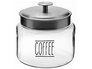 Anchor Hocking 13592ahg18 64 oz. Coffee Montana Jar w SS Lid