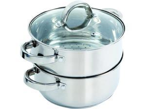 Oster 108132.03 Sangerfield Steamer Set with Lid, Stainless Steel