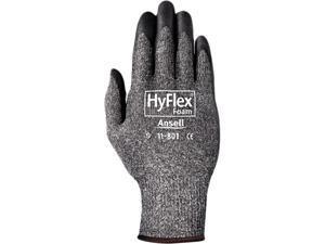 HyFlex Gloves, Foam, XL, Gray