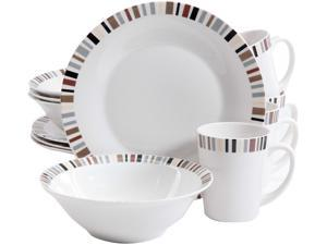 Gibson Lanvale 12 Piece Dinnerware Set