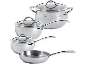 Gibson Oster Derrick Cookware 7pc Stainless Steel