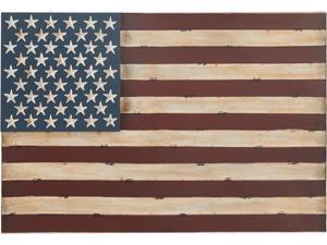 Cedar Crest 302021 Red Metal American Flag Wall Decor