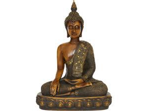 Cedar Crest 306625 Brown Polystone Sculpture Buddha