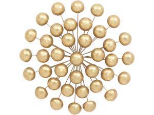 Cedar Crest 304547 Gold Glam Ornamental Metal Wall Decor