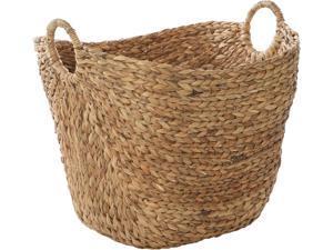 Cedar Crest 301515 Brown Sea Grass Contemporary Storage Basket