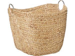 Cedar Crest 303868 Brown Sea Grass Contemporary Storage Basket
