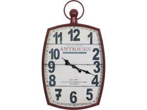 Cedar Crest 303533 White Vintage Metal Wall Clock