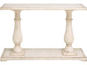 Cedar Crest 302844 White Farmhouse Wood Console Table