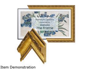"""Frame My TV Ornate Gold Frame for 65"""" Samsung """"The Frame"""" TV"""