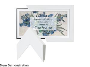 """Frame My TV Gloss White Frame for 43"""" Samsung """"The Frame"""" TV"""