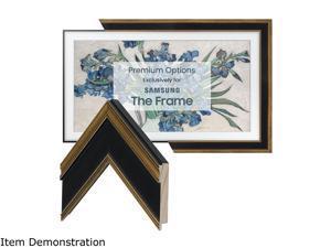 """Frame My TV Antique Gold & Black Frame for 55"""" Samsung """"The Frame"""" TV"""