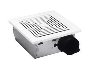 Broan 688 Ventilation Fan, 50 CFM 4.0 Sones, White Grille