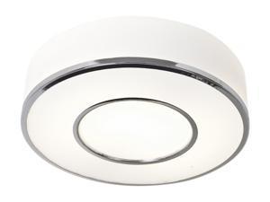 Access Lighting AeroHalogen Flush- 1 Light ChromeFinish w/ OpalGlass