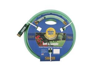 "Colorite/Swan SNSS58100 5/8"" x 100' Soft & Supple Garden Hose"