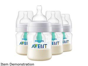 Philips Avent Anti-colic Bottle with AirFree Vent 4 oz. 4pk, SCF400/44
