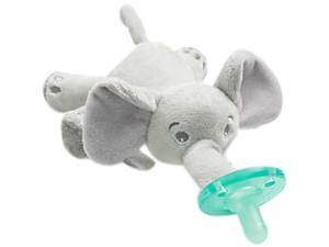 Philips Avent Soothie Snuggle, 0m+, Elephant, 1 Pack, SCF347/03