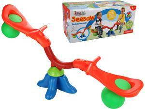 Kids Seesaw 360 Degree Spinning Teeter Totter Bouncer Activity Sporting Play