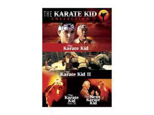 The Karate Kid Collection (Four Film Set) (1994) / DVD Pat Morita, Hilary Swank, Ralph Macchio, Michael Ironside, Constance Towers