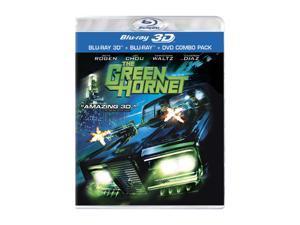 The Green Hornet (DVD & Blu-ray Combo/WS) Seth Rogen, Jay Chou, Cameron Diaz, Christoph Waltz, Edward Furlong
