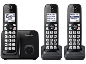 Panasonic KX-TGD513B Cordless Phone With Handset Cordless Phone - 3 Handsets