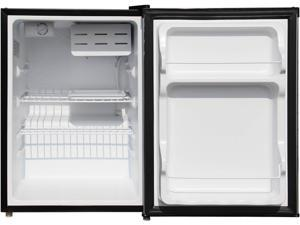 Magic Chef MCBR240S1 2.4 Cu Ft Refrigerator with Manual Defrost, Stainless VCM
