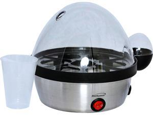 Brentwood Egg Cooker and Steamer Black TS-1040S
