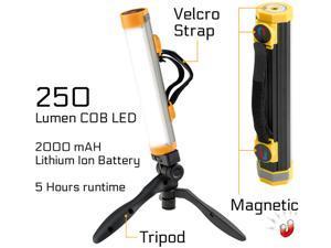 Powerglow Rechargeable Work Light 250LM COB LED USB Magnets Tripod - 240242