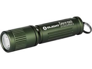 OLIGHT I3UV EOS UV LED Light Flashlight EDC Light Compact 395 nM Ultraviolet Blacklight Pet Urine Detector for Dog Urine, Pet Stains and Bed Bug