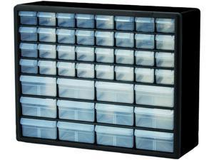 """Akro-Mils Storage Cabinets 44 Drawers 20""""x6-3/8""""x15-13/16"""" BK/GY 10144"""