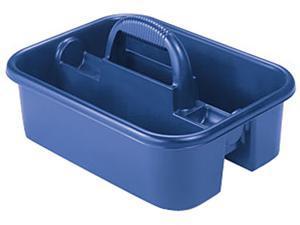 "Akro-Mils Tote Caddy 13-3/4""x18-1/4""x8-3/4"" Blue 09185BLUE"