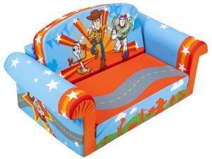 Marshmallow Furniture 2-in-1 Flip Open Couch Bed Toddler Furniture, Toy Story