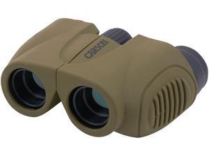 Carson Hornet Compact 8x22mm Binocular Fully Multi-oated Lenses, Olive,