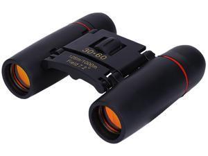 30 x 60 Zoom Mini Day Night Vision Binoculars Outdoor Travel Telescope with Bag