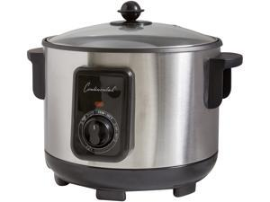 Continental Electric CP43279 5 Lt. Deep Fryer, Stainless Steel