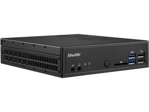 Shuttle XPC Slim DH110 Intel Socket LGA1151 Intel H110 Black Barebone Systems - Mini / Booksize