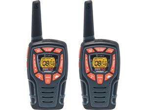 Cobra Long Range 2-Way Walkie Talkie - Rechargeable plus Water Resistant, Long-Range up to 28-Mile Two Way Radio with NOAA Weather Alert & VOX (ACXT545)