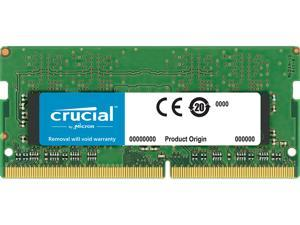 Crucial 8GB Single DDR4 2400 MT/s (PC4-19200) DR x8 SODIMM 260-Pin Memory - CT8G4SFD824A