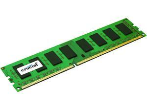 Crucial 8GB 240-Pin DDR3 SDRAM ECC Unbuffered DDR3L 1600 (PC3L 12800) Server Memory Model CT102472BD160B